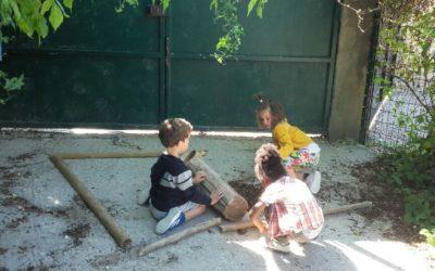 La maternelle sous les beaux jours